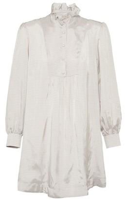 ALEXACHUNG Short shirt dress