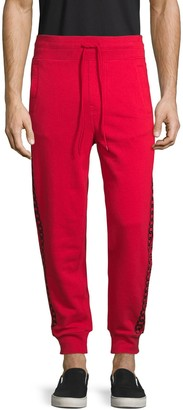 True Religion Logo Cotton Jogger Pants