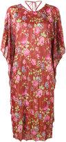 Balenciaga floral print dress - women - Silk/Viscose - 34