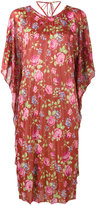 Balenciaga Short Gospel dress - women - Silk/Viscose - 34
