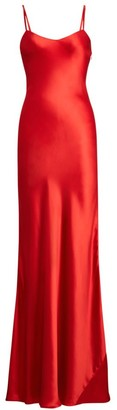 Ralph Lauren Evelyn Silk Evening Gown