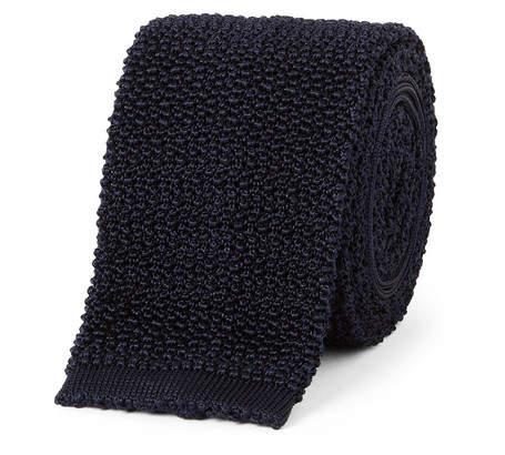 Drakes Drake's 6.5cm Knitted Silk Tie