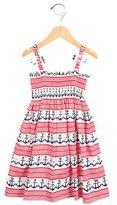 Rachel Riley Girls' Anchor Print Sleeveless Dress