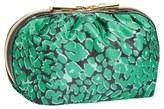 Nordstrom Green Leopard Cosmetics Clutch