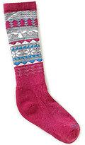 Smartwool Girls Fairisle Moose Socks
