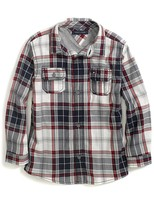Tommy Hilfiger Final Sale- Camp Pockets Plaid Shirt