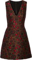 Alice + Olivia Holden jacquard mini dress