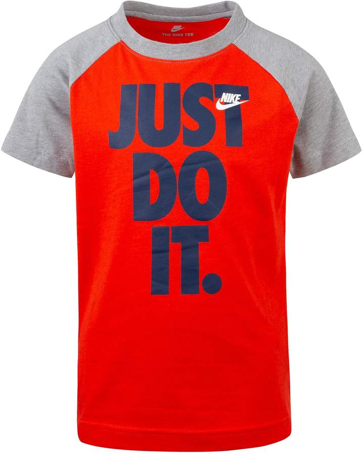 4847447b Nike Boys Just Do It T Shirts - ShopStyle