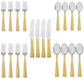 Hampton Forge Argent Orfèvres Broadway 24kt Gold 20-Piece Flatware Set