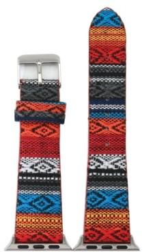 Nimitec Striped Fabric Apple Watch Band
