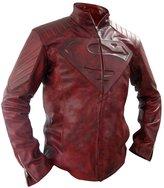 fjackets Distressed Smallville Superman Jacket L