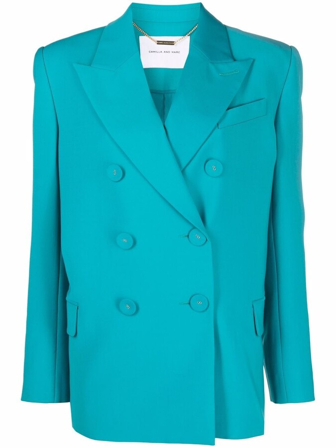 Camilla And Marc Double-Breasted Blazer