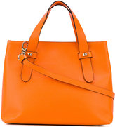 Borbonese double handle tote bag - women - Leather - One Size