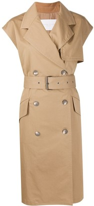 Fabiana Filippi Short-Sleeved Trench