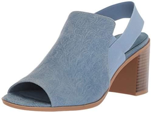 Easy Street Shoes Women's Jetson Heeled Sandal 10 2W US