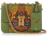 Valentino B-Rockstud leather shoulder bag