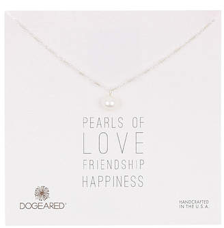 Dogeared Pearl Collection Silver 6-8Mm Pearl Necklace
