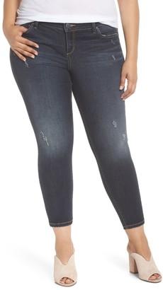 SLINK Jeans Ankle Skinny Jeggings (Plus Size)