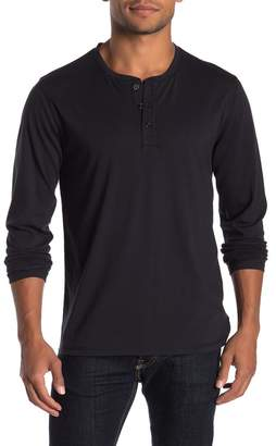Public Opinion Long Sleeve Solid Henley
