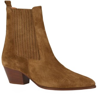 Sandro Paris Suede Amelya Ankle Boots