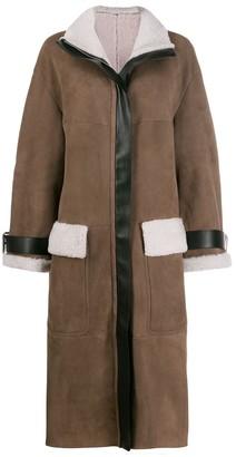 Blancha Oversized Zip Coat