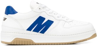 MSGM Logo-Panel Low Top Trainers