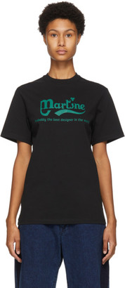 Martine Rose Black Phonox T-Shirt
