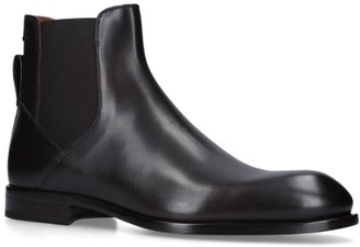 Ermenegildo Zegna Leather Vienna Boots