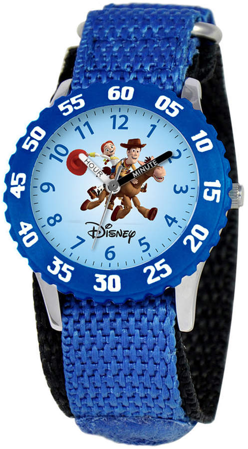 Disney Watch, Kid's Woody and Jessie Time Teacher Blue Strap 31mm W000061