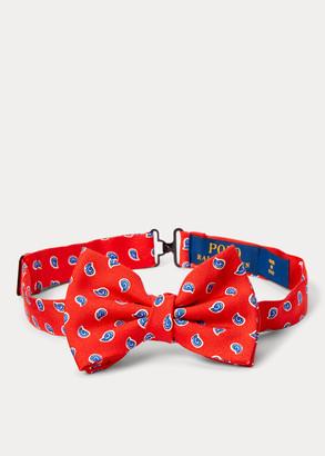 Ralph Lauren Neat Silk Bow Tie