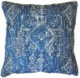 Kim Salmela Akumal Outdoor Pillow, Indigo