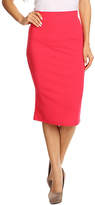Pink Pencil Skirt - Plus Too