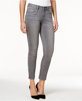 Earl Jeans Medium Gray Wash Skinny Ankle Jeans