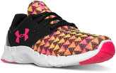 Under Armour Girls' Flow Print Running Sneakers from Finish Line