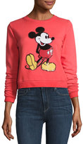 Marc Jacobs Mickey Mouse Crewneck Sweatshirt, Red