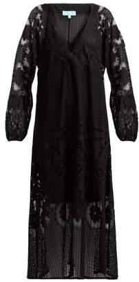 Melissa Odabash Melissa Crochet Lace Maxi Dress - Womens - Black