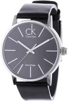 Calvin Klein Men's K7621107 Leather Quartz Watch with Dial