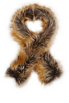 Imposter IMPOSTER WOMEN'S FAUX-FUR SCARF-BROWN