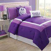 Bed Bath & Beyond Hotel Juvi Twin Comforter Set in Purple