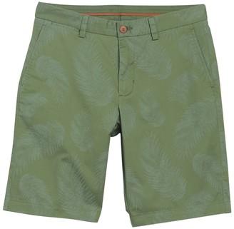 Tommy Bahama Tonga Fronds Palm Leaf Print Shorts