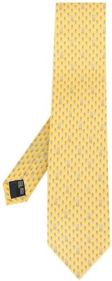 Salvatore Ferragamo Rabbit-Print Tie