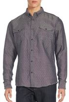 Sovereign Code Quilted Slim-Fit Sport Shirt