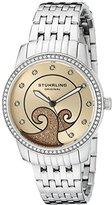 Stuhrling Original Women's 569.03 Coronet Analog Display Quartz Silver Watch