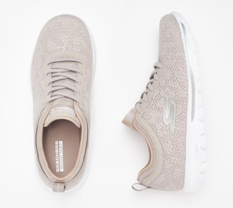 Skechers GOwalk Gored-Lace Sneakers - Destiny