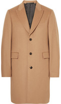 Paul Smith Wool And Cashmere-blend Overcoat - Camel