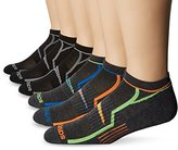 Saucony Men's 6 Pack Performance No-Show Socks