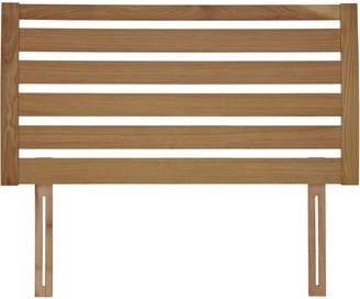 John Lewis & Partners Fawley Wooden Headboard, Oak, Double