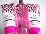Victoria's Secret 3 Piece Pure Seduction Blush Fragrance Gift Set- Fragrance Mist & Body Lotion (Pure Seduction Blush)