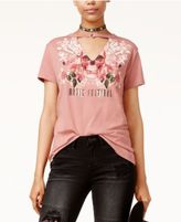 Polly & Esther Juniors' Cotton Printed O-Ring T-Shirt