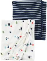 Carter's Baby Boy Monsters & Stripes 2-pk. Swaddles